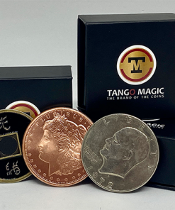 Triple TUC (Tango Ultimate Coin) Tricolor with Online Instructions by Tango - Trick