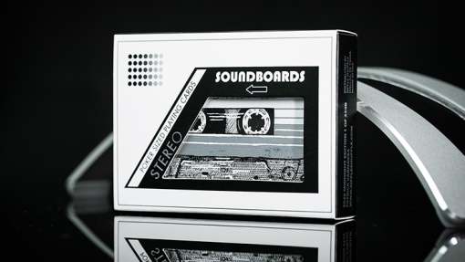 Soundboards Midnight Edition Playing Cards by Riffle Shuffle