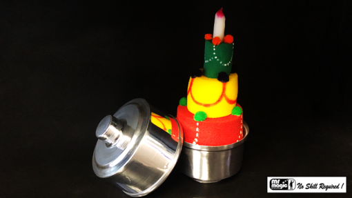 Mini Production Pan with Sponge Cake by Mr. Magic - Trick