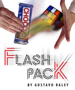 FLASH PACK (Gimmicks and Online Instructions) by Gustavo Raley - Trick