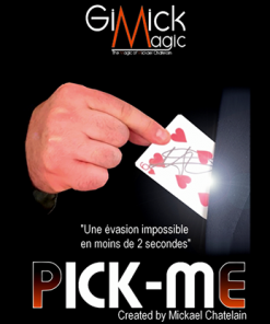 PICK ME (RED) by Mickael Chatelain - Trick