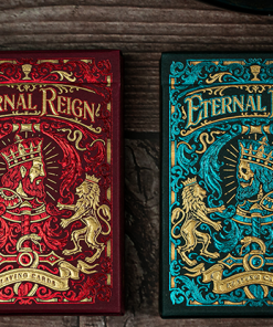 Eternal Reign (Ruby Empire) Playing Cards by Riffle Shuffle
