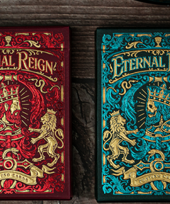 Eternal Reign (Sapphire Kingdom) Playing Cards by Riffle Shuffle