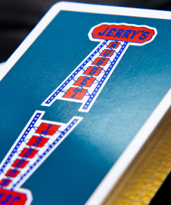Gilded Vintage Feel Jerry's Nuggets (Aqua) Playing Cards