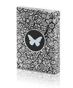 Limited Edition Butterfly Playing Cards (Black and White) by Ondrej Psenicka