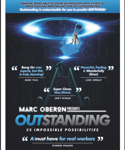 OUTSTANDING by Marc Oberon - Trick