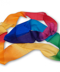 Multicolor Silk Streamer 4 inch by 15 feet from Magic by Gosh - Trick