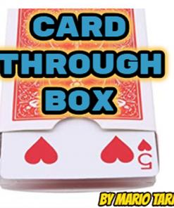 Card Through Box by Mario Tarasini video DOWNLOAD