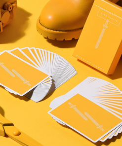 King Slayers (Mustard) Playing Cards
