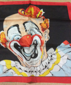 """Rice Picture Silk 18"""" (Circus Clown) by Silk King Studios - Trick"""