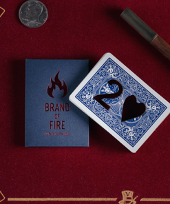 BRAND OF FIRE / BLUE(Gimmicks and Online Instructions) by Federico Poeymiro - Trick