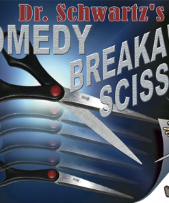 Comedy Breakaway Scissors by Martin Schwartz - Trick