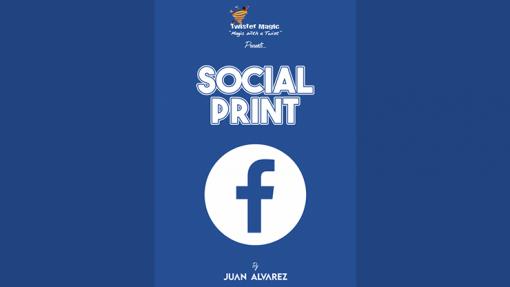 SOCIAL PRINT by Juan Alvarez and Twister Magic (Leo DiCaprio) - Trick