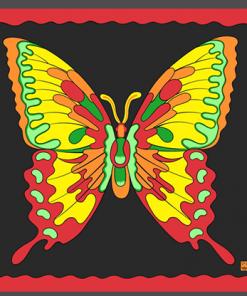 "Rice Symphony Silk 36"" (Butterfly) by Silk King Studios - Trick"