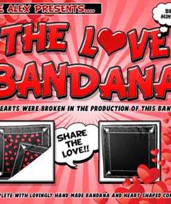 LOVE BANDANA by Lee Alex - Trick