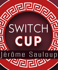 Switch Cup (Gimmicks and Online Instructions) by Jérôme Sauloup & Magic Dream - Trick