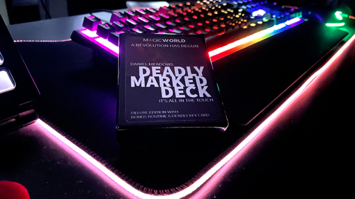 DEADLY MARKED DECK (Gimmicks and Online Instructions) by MagicWorld - Trick