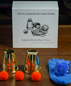 Tommy Wonder Cups & Balls Set (Brass) - Trick