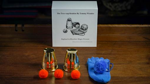 Tommy Wonder Cups & Balls Set (Brass) - Trick