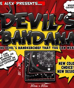 Devil's Bandana (Black) by Lee Alex - Trick
