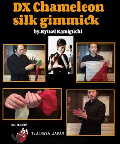 DX Chameleon Silk Gimmick by Ryusei Kamiguchi & Tejinaya Magic - Trick