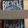 Gilded Bicycle Parrot Extinct Playing Cards