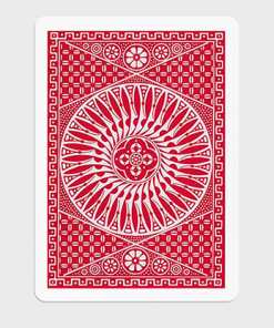 Tally Ho Circle Back Gaff Pack Red (6 Cards) by The Hanrahan Gaff Company