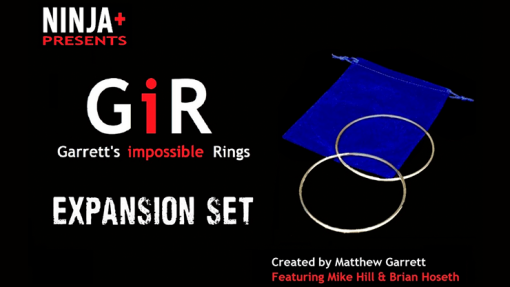GIR Expansion Set BLACK (Gimmick and Online Instructions) by Matthew Garrett - Trick
