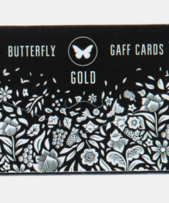 Gaff pack for Butterfly Playing Cards Marked (Black and Gold) by Ondrej Psenicka