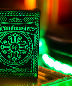 Emerald Princess Foiled Edition Playing Cards by Grandmasters