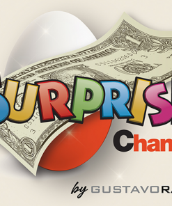 Surprise Change (Gimmicks and Online Instructions) by Gustavo Raley - Trick