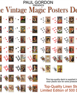 Vintage Magic Posters Deck from Paul Gordon - Trick