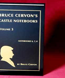 Bruce Cervon Castle Notebook