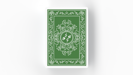 BLACK ROSES IMMERGRÜN Playing Cards