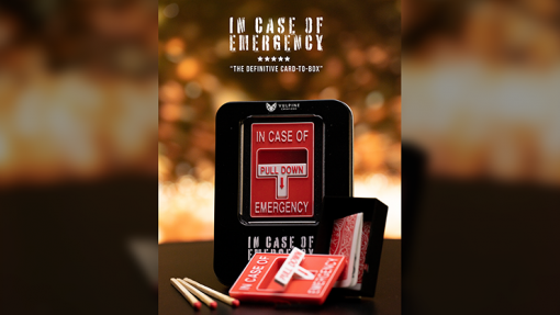 In Case of Emergency (Gimmicks and Online Instructions) by Adam Wilber and Vulpine - Trick