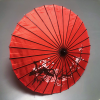 Dragon Parasol RED by LY & MS Magic - Trick