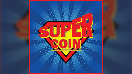 SUPER COIN (Gimmicks and Online Instructions) by Mago Flash -Trick