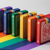 DKNG Rainbow Wheels (Orange) Playing Cards by Art of Play