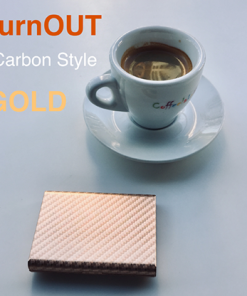 BURNOUT 2.0 CARBON GOLD by Victor Voitko (Gimmick and Online Instructions) - Trick