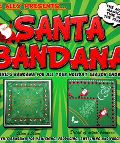 Santa Bandana by Lee Alex - Trick