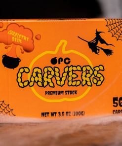 Carvers V2 Pumpkin Playing Cards by OPC